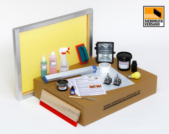 siebdruck set basic f r papier und karton. Black Bedroom Furniture Sets. Home Design Ideas