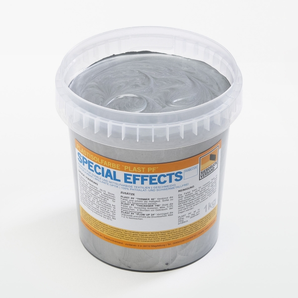 PLAST PF Plastisolfarbe SPECIAL EFFECTS Brillant-Silber