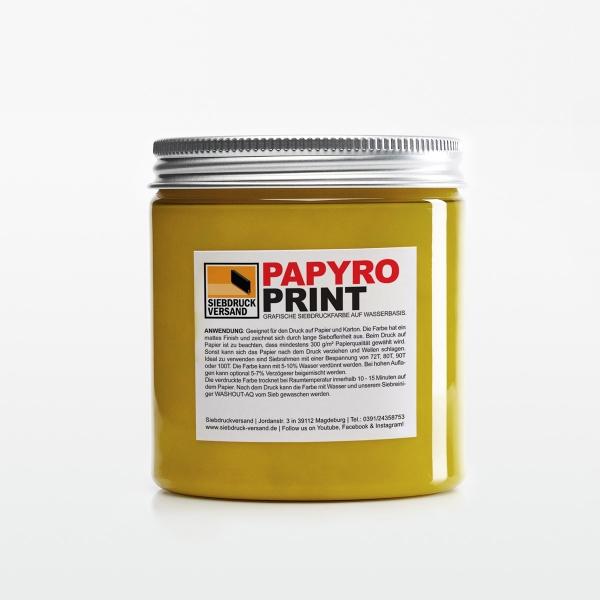 PapyroPrint für Druck auf Papier + Karton Gold - Siebdruckversand ...