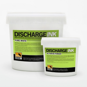 1kg DISCHARGE INK Pure White + 80g Activator Powder [Sonderfarbe]