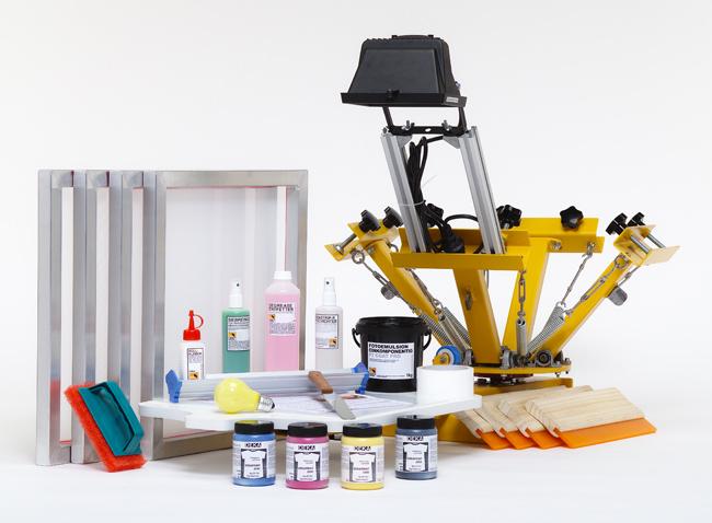 siebdruck set f r mehrfarbigen siebdruck siebdruckversand der online shop f r. Black Bedroom Furniture Sets. Home Design Ideas
