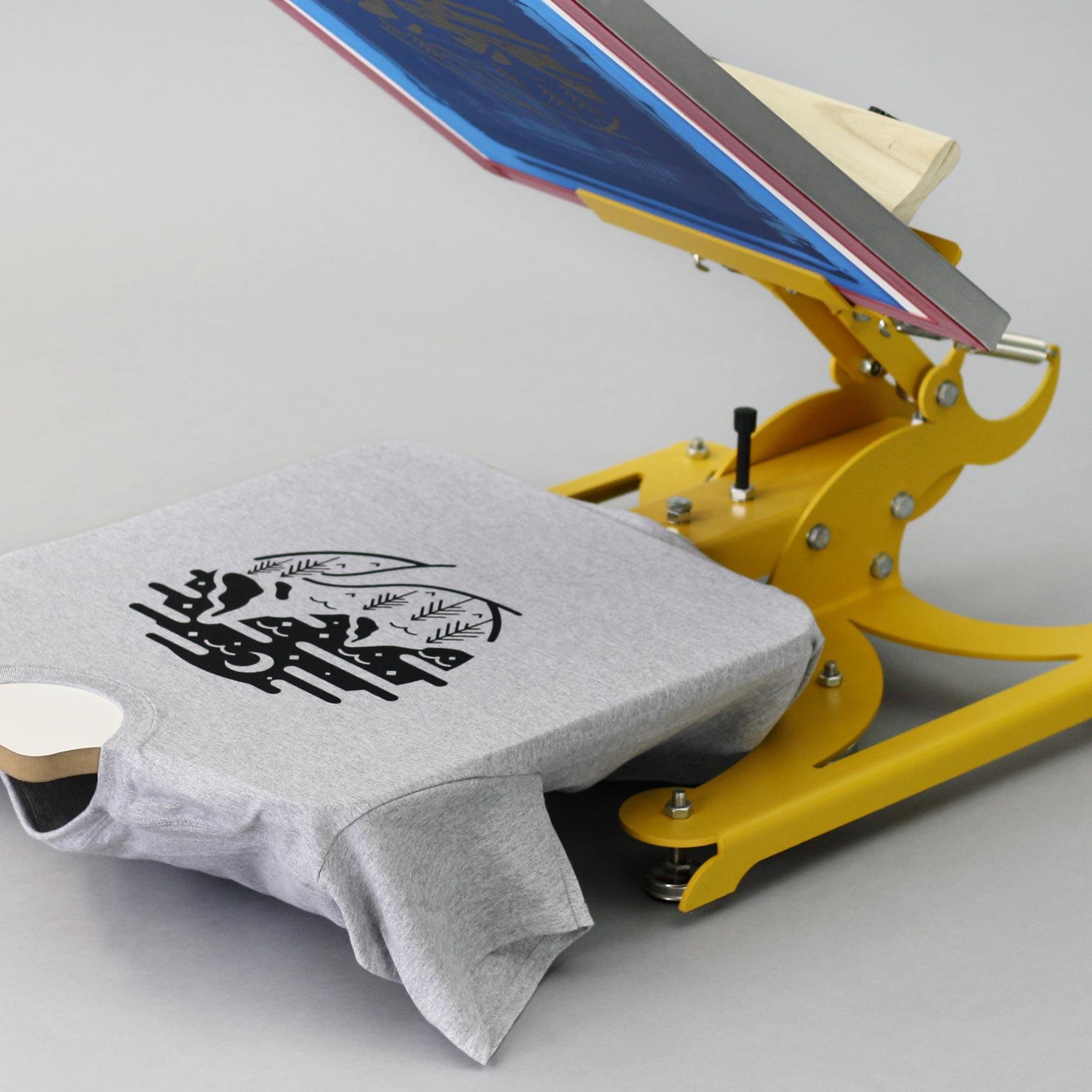sports shoes f8674 250b9 T-Shirts selber bedrucken - Das Siebdruckverfahren ...